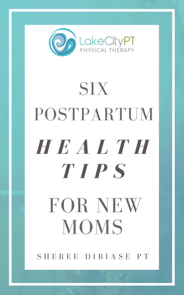 Postpartum Ebook Lake City Physical Therapy